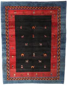 Gabbeh Rustic Teppe 235X305 Ekte Moderne Håndknyttet Svart/Mørk Blå (Ull, Persia/Iran)