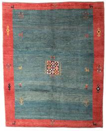 Gabbeh Rustic Teppe 234X293 Ekte Moderne Håndknyttet Turkis Blå/Lys Grå (Ull, Persia/Iran)