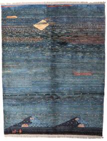 Gabbeh Rustic Teppe 211X273 Ekte Moderne Håndknyttet Mørk Blå/Lys Grå (Ull, Persia/Iran)