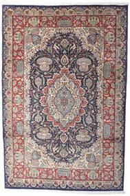Kashmar Indisk Teppe 206X311 Ekte Orientalsk Håndknyttet Lys Grå/Mørk Brun (Ull, India)