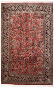 Keshan Indisk Teppe 181X280 Ekte Orientalsk Håndknyttet Mørk Brun/Lysbrun (Ull, India)