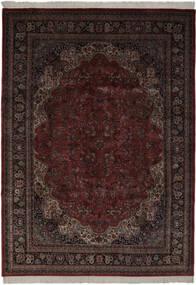 Keshan Indisk Teppe 256X361 Ekte Orientalsk Håndknyttet Svart Stort (Ull, India)