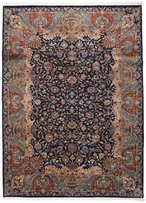 Kashmar Indisk Teppe 254X342 Ekte Orientalsk Håndknyttet Svart/Mørk Brun Stort (Ull, India)