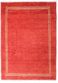 Gabbeh Kashkooli Teppe 80X113 Ekte Moderne Håndknyttet Rød/Rust (Ull, Persia/Iran)