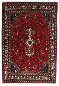 Ghashghai Teppe 100X150 Ekte Orientalsk Håndknyttet Mørk Rød/Mørk Brun (Ull, Persia/Iran)