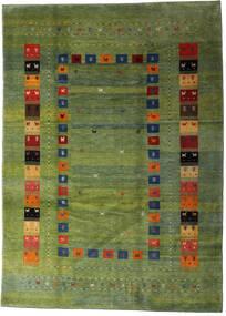 Loribaft Persia Teppe 210X291 Ekte Moderne Håndknyttet Olivengrønn/Mørk Grønn (Ull, Persia/Iran)