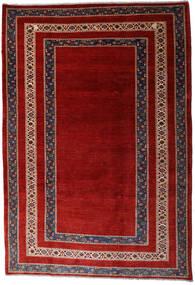 Loribaft Persia Teppe 213X310 Ekte Moderne Håndknyttet Mørk Rød/Rust (Ull, Persia/Iran)