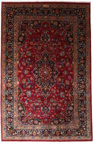 Mashad Teppe 197X300 Ekte Orientalsk Håndknyttet Mørk Rød (Ull, Persia/Iran)
