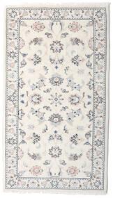 Kashmar Teppe 78X138 Ekte Orientalsk Håndknyttet Lys Grå/Beige (Ull, Persia/Iran)