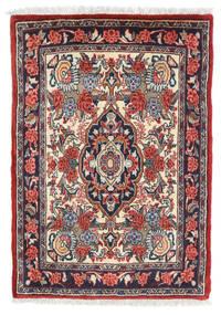 Sarough Teppe 57X81 Ekte Orientalsk Håndknyttet Mørk Rød/Mørk Grå (Ull, Persia/Iran)
