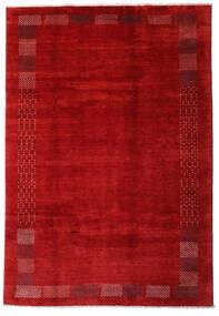 Loribaft Persia Teppe 202X294 Ekte Moderne Håndknyttet Rust/Mørk Rød (Ull, Persia/Iran)