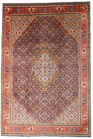 Ardebil Teppe 215X320 Ekte Orientalsk Håndknyttet Mørk Rød/Mørk Lilla (Ull, Persia/Iran)