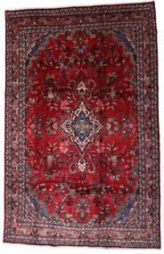 Hamadan Shahrbaf Teppe 208X310 Ekte Orientalsk Håndknyttet Mørk Rød/Rød (Ull, Persia/Iran)