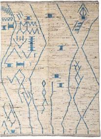 Moroccan Berber - Afghanistan Teppe 176X232 Ekte Moderne Håndknyttet Beige/Lys Grå (Ull, Afghanistan)