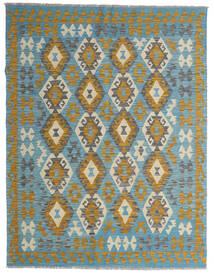 Kelim Afghan Old Style Teppe 148X195 Ekte Orientalsk Håndvevd Brun/Mørk Beige (Ull, Afghanistan)