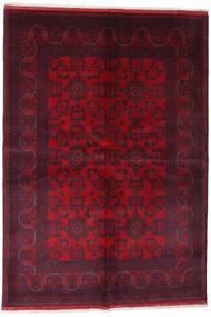 Afghan Khal Mohammadi Teppe 162X234 Ekte Orientalsk Håndknyttet Mørk Rød/Rød (Ull, Afghanistan)