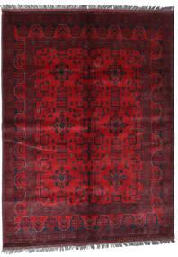 Afghan Khal Mohammadi Teppe 169X228 Ekte Orientalsk Håndknyttet Mørk Rød/Rød (Ull, Afghanistan)