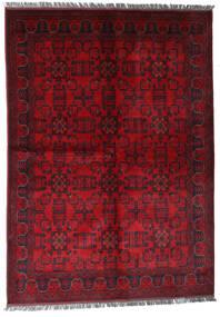 Afghan Khal Mohammadi Teppe 170X240 Ekte Orientalsk Håndknyttet Mørk Rød/Rød (Ull, Afghanistan)