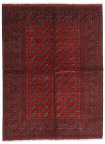 Afghan Teppe 172X229 Ekte Orientalsk Håndknyttet Mørk Rød/Mørk Brun (Ull, Afghanistan)