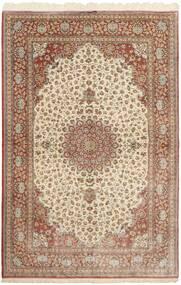 Ghom Silke Teppe 160X251 Ekte Orientalsk Håndknyttet Brun/Beige (Silke, Persia/Iran)