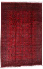 Afghan Khal Mohammadi Teppe 203X301 Ekte Orientalsk Håndknyttet Mørk Rød/Rød (Ull, Afghanistan)