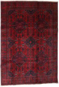Afghan Khal Mohammadi Teppe 199X289 Ekte Orientalsk Håndknyttet Mørk Rød (Ull, Afghanistan)