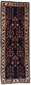 Gabbeh Kashkooli Teppe 82X223 Ekte Moderne Håndknyttet Teppeløpere Mørk Brun/Mørk Rød (Ull, Persia/Iran)