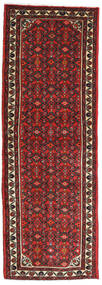 Hamadan Teppe 70X208 Ekte Orientalsk Håndknyttet Teppeløpere Mørk Rød/Rust (Ull, Persia/Iran)