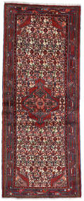 Asadabad Teppe 79X192 Ekte Orientalsk Håndknyttet Teppeløpere Mørk Rød (Ull, Persia/Iran)