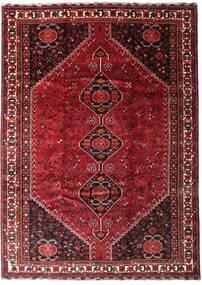 Ghashghai Teppe 225X313 Ekte Orientalsk Håndknyttet Mørk Rød/Rød (Ull, Persia/Iran)