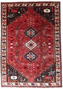 Ghashghai Teppe 201X287 Ekte Orientalsk Håndknyttet Mørk Rød/Rød (Ull, Persia/Iran)
