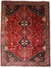 Ghashghai Teppe 227X296 Ekte Orientalsk Håndknyttet Mørk Rød/Mørk Brun (Ull, Persia/Iran)