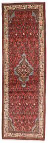 Asadabad Teppe 76X236 Ekte Orientalsk Håndknyttet Teppeløpere Mørk Brun/Mørk Rød (Ull, Persia/Iran)