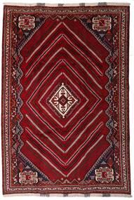 Ghashghai Teppe 212X310 Ekte Orientalsk Håndknyttet Mørk Rød/Mørk Brun (Ull, Persia/Iran)