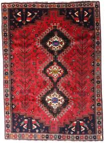 Ghashghai Teppe 206X291 Ekte Orientalsk Håndknyttet Rød/Mørk Rød (Ull, Persia/Iran)