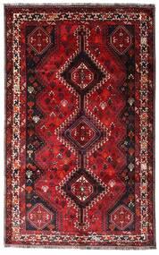 Ghashghai Teppe 160X261 Ekte Orientalsk Håndknyttet Mørk Rød/Rød (Ull, Persia/Iran)
