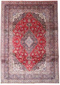 Keshan Teppe 248X348 Ekte Orientalsk Håndknyttet Lyselilla/Lyserosa (Ull, Persia/Iran)