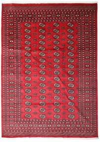 Pakistan Bokhara 2Ply Teppe 214X297 Ekte Orientalsk Håndknyttet Rød/Mørk Rød (Ull, Pakistan)