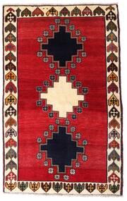 Ghashghai Teppe 120X195 Ekte Orientalsk Håndknyttet Rød/Mørk Brun (Ull, Persia/Iran)