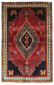 Ghashghai Teppe 127X203 Ekte Orientalsk Håndknyttet Mørk Rød/Mørk Brun (Ull, Persia/Iran)
