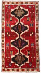 Ghashghai Teppe 117X220 Ekte Orientalsk Håndknyttet Rust/Mørk Rød (Ull, Persia/Iran)