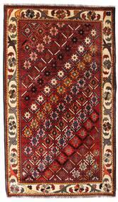 Ghashghai Teppe 119X202 Ekte Orientalsk Håndknyttet Mørk Rød (Ull, Persia/Iran)