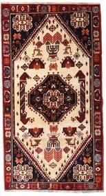 Ghashghai Teppe 120X225 Ekte Orientalsk Håndknyttet Mørk Rød/Beige (Ull, Persia/Iran)