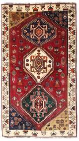 Ghashghai Teppe 116X206 Ekte Orientalsk Håndknyttet Mørk Rød/Mørk Brun (Ull, Persia/Iran)