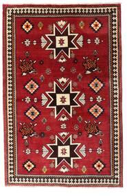 Ghashghai Teppe 127X197 Ekte Orientalsk Håndknyttet Mørk Rød (Ull, Persia/Iran)