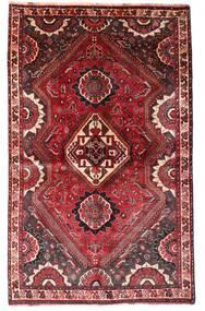 Ghashghai Teppe 123X198 Ekte Orientalsk Håndknyttet Mørk Rød/Mørk Brun (Ull, Persia/Iran)