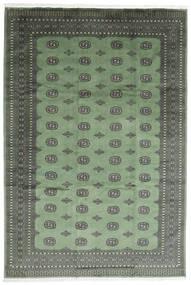 Pakistan Bokhara 2Ply Teppe 246X358 Ekte Orientalsk Håndknyttet Mørk Grønn/Olivengrønn (Ull, Pakistan)