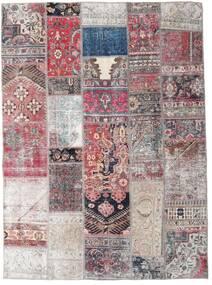 Patchwork - Persien/Iran Teppe 172X236 Ekte Moderne Håndknyttet Lyselilla/Lys Grå (Ull, Persia/Iran)