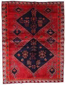 Lori Teppe 172X226 Ekte Orientalsk Håndknyttet Rød/Mørk Lilla (Ull, Persia/Iran)