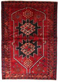 Lori Teppe 170X238 Ekte Orientalsk Håndknyttet Mørk Rød/Mørk Brun (Ull, Persia/Iran)